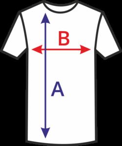 T-Shirt Maß